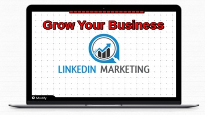 Make your LinkedIn marketing.