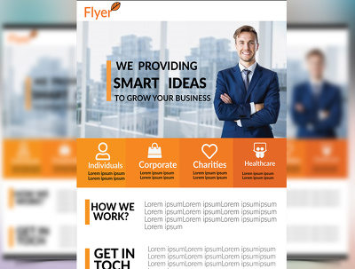 I will create beautiful Flyers, Posters ,Brochures and Banner