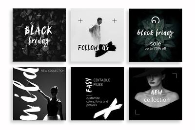 Design 8 Professional Instagram posts in 48 hours