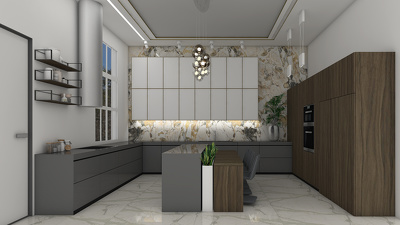 Design a kitchen for your home.