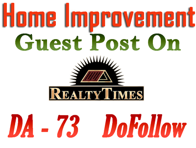 Write and post on Realtytimes.com with dofollow link