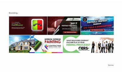 Always available to design an attractive and elegant banner
