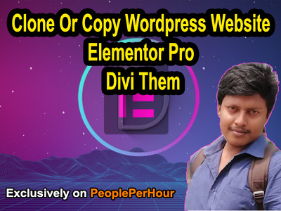 Do Wordpress Website Design With Elementor Pro And Divi Theme