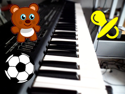 Compose original or cover song for babies and children