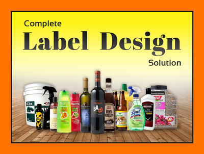 Design professional product label