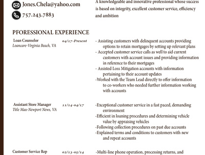 I will give your Resume a high tech Design