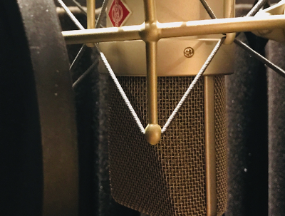 Create professional, mastered voiceovers of up to 400 words.