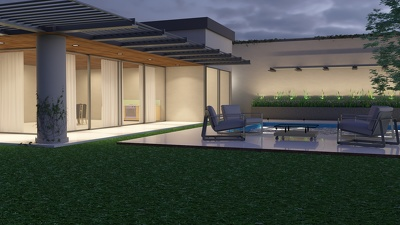 Create a 3D Exterior Rendering.