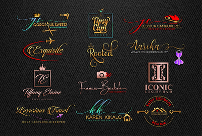 Design Modern Signature Logo