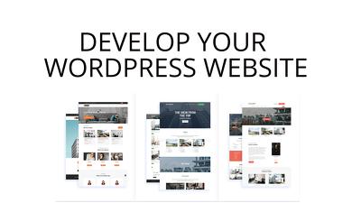 Develop Your Wordpress Website (Fast Turnaround)