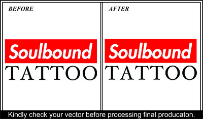 Manually vector trace, Vectorize logo,image,drawing in HD