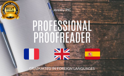Provide excellent french proofreading in 24h