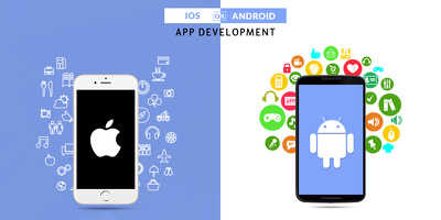Develop mobile app in iPhone and Android