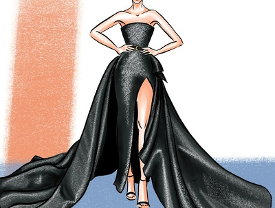 Create a digital fashion illustration for your collection