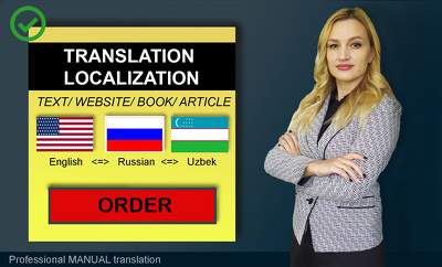 Translate any kind of document (1000 words)