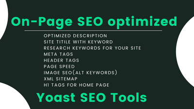 On Page SEO Perfectly For Your Website 100% White Hat Love Them