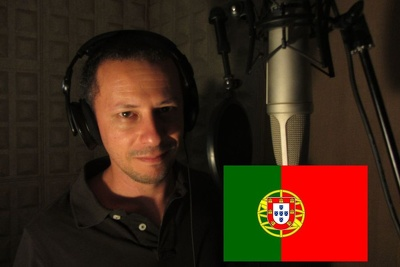 Record a male voice over in european portuguese (100 words)