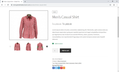 Create woocommerce simple, grouped, affiliate & variable product