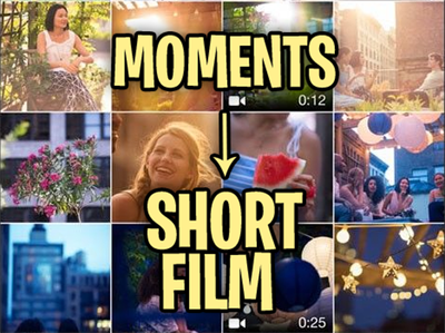 Edit your personal video clips in to a short film