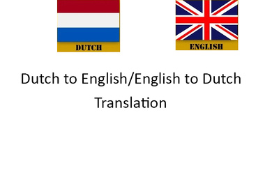 Professionally translate 500 words between Dutch and English