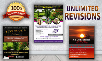 Design business, corporate, and creative flyer with in 24 hours