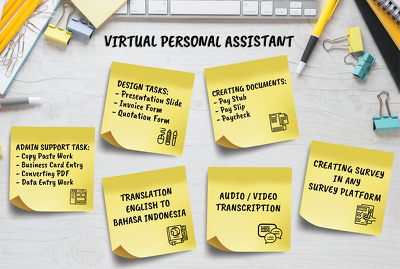 Be your virtual personal assistant