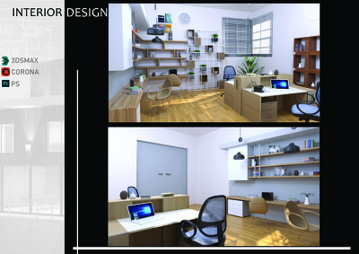 Create your interior and exterior design with realistic render
