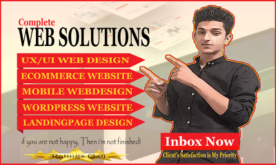 Do Web Design And Build Complete Website