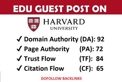 Guest post on my harvard edu university blog (harvard.edu) ,DA94