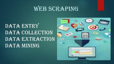 Provide a web scraping from any social media