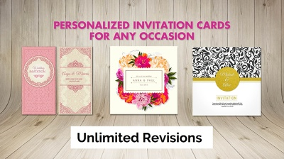 Design Printable Greeting Card and Invitation Designs