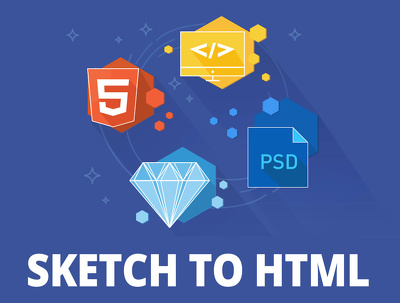 Sketch/PSD into Responsive HTML5+CSS3 Web Page using Bootstrap