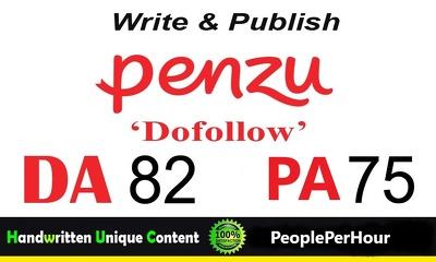 Write and Publish Guest Post on Penzu.com DA-82 Dofollow