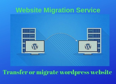 Wordpress Website Migration Or Transfer Website In 7 Hour