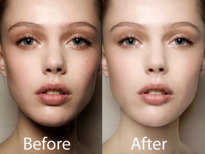 Digital retouch your video