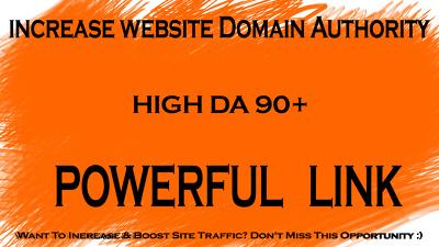 PREMIUM 15 Backlinks DA 90+ [Sites list UPDATE]
