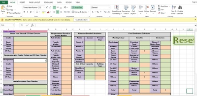 Develop/update microsoft excel tools as per requirements