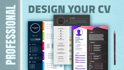 Design Professional CV. Give's you two proposals
