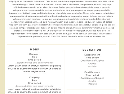Proofread and beautifully format your CV or resume