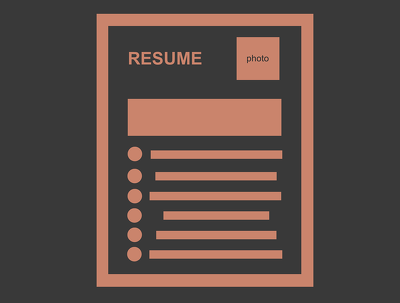 Write your CV/Resume and cover letter