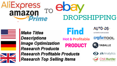 Do Dropshipping Product Research Ebay Listing