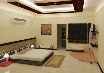Design 3D interior of Room, Lounge e.t.c