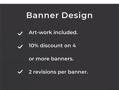 Design a Banner