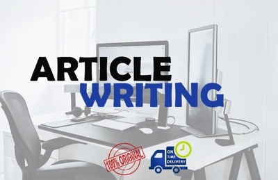 Write an article of up to 1000 words, on any topic for $20