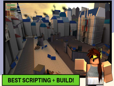 Script and build for you on Roblox