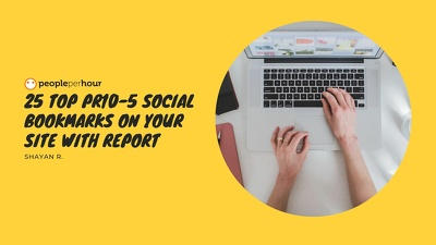 25 Top PR10-5 Social Bookmarks On Your Site with report