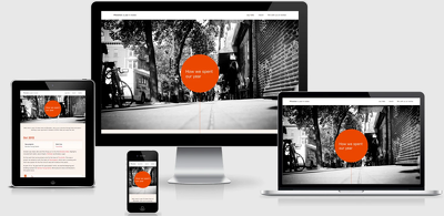 Create An Editable Responsive Landing Page With Js Effects