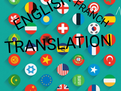 Translate franch to English