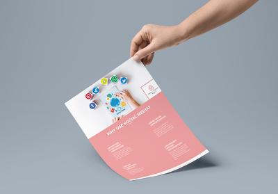 Design a flyer/leaflet for you