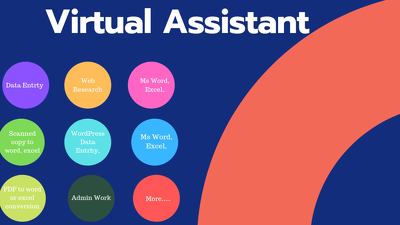 Your Reliable Virtual Assistant for 5 hours